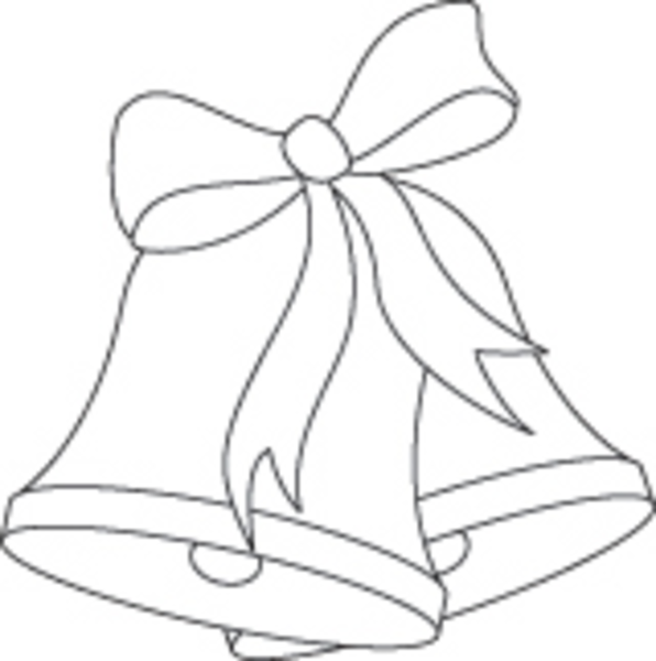 596x600 Jingle Clipart Wedding Bell Cute Borders, Vectors, Animated, Black