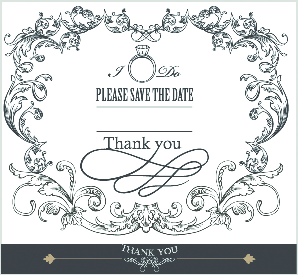 595x550 Europeanstyle Lace Border 03 Vector Free Vector 4vector