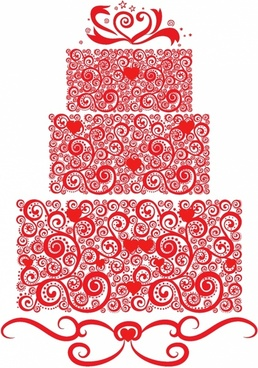 258x368 Vector Wedding Cake Free Vector Download (2,379 Free Vector) For