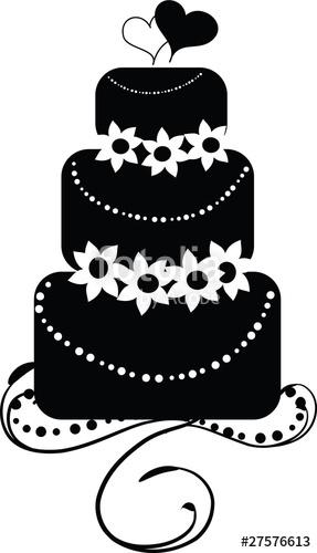287x500 Wedding Cake