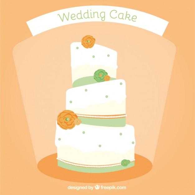 626x626 Wedding Cake Vector Free Download