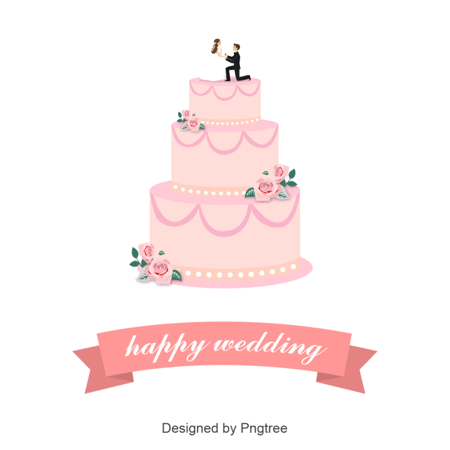 894x894 Wedding Cake Vector Design By Pngtree