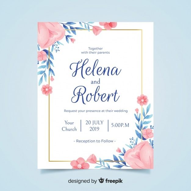 626x626 Wedding Card Vectors, Photos And Psd Files Free Download