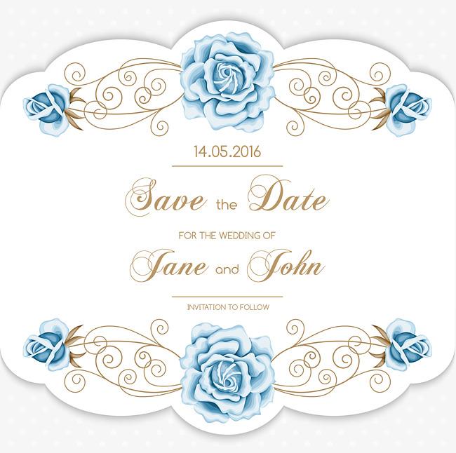 650x646 Wedding Invitations, Wedding Invitations Flower, Vector