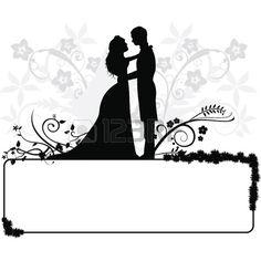 236x236 Couple Clipart Wedding Vector