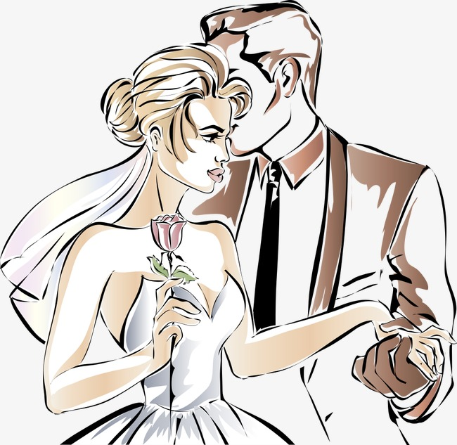 650x633 Vector Wedding Couples, Wedding Vector, Wedding Clipart, Wedding