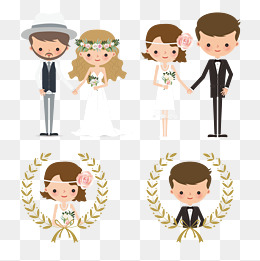 260x261 Wedding Couple Png, Vectors, Psd, And Clipart For Free Download