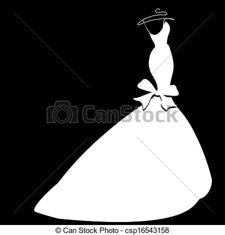 450x470 Vector Freeuse Library Wedding Dress Vector Freeuse Library