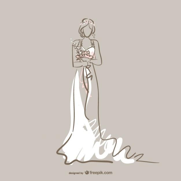 626x626 Bridal Dress Vectors, Photos And Psd Files Free Download