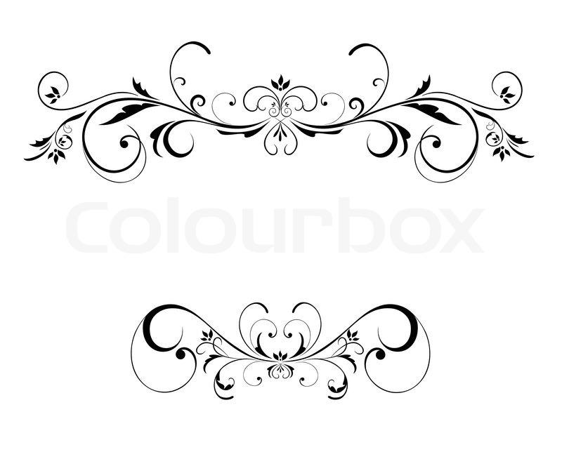 800x644 Wedding Floral Frame Stock Vector Colourbox