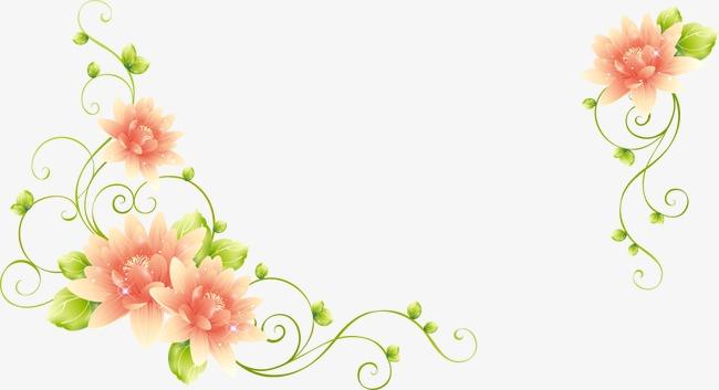 650x353 Vector Decorative Wedding Flowers, Wedding Vector, Wedding Clipart