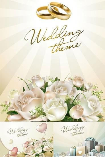 369x550 Wedding Flowers Vector Free Vector In Adobe Illustrator Ai ( .ai