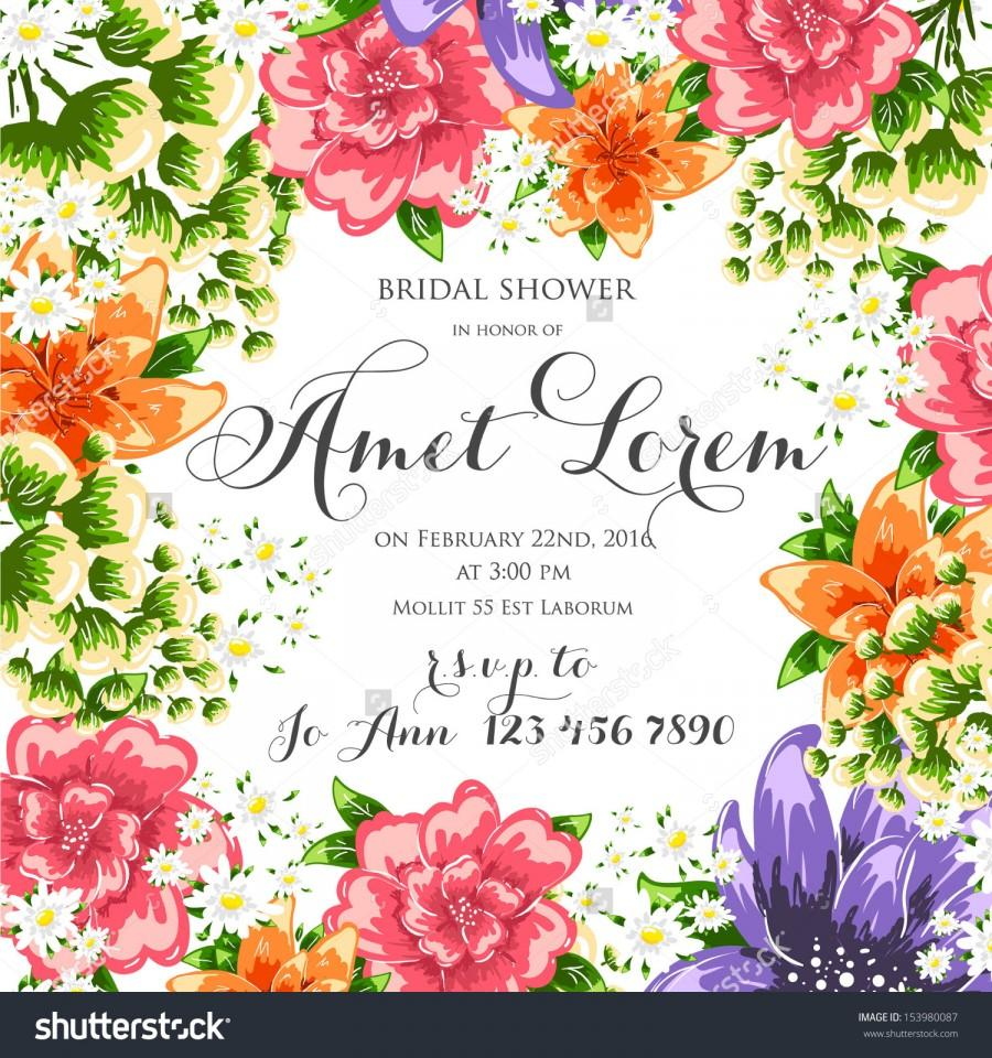 900x960 Flower Vector Background Brochure Template. Set Of Floral Cards