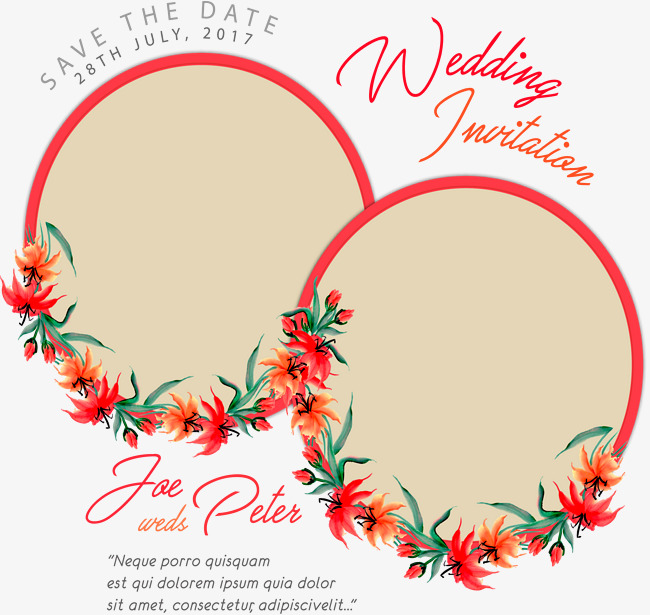 650x615 Pink Round Couple Photo Frame, Vector Png, Couple Picture Frame