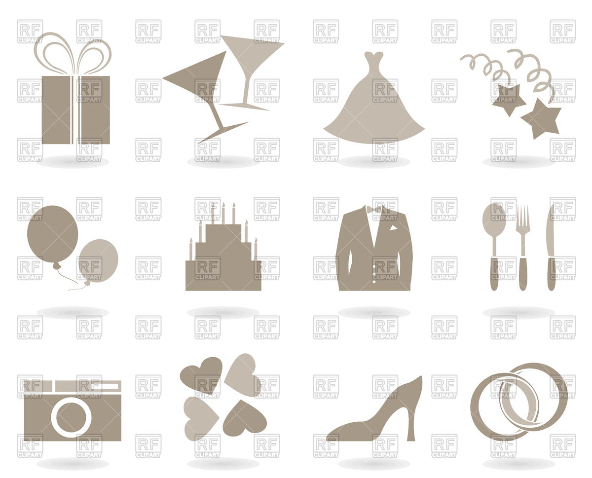 1200x969 Wedding Icons Vector Image Vector Artwork Of Icons And Emblems