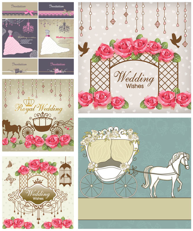 Wedding Invitation Vector Free Download