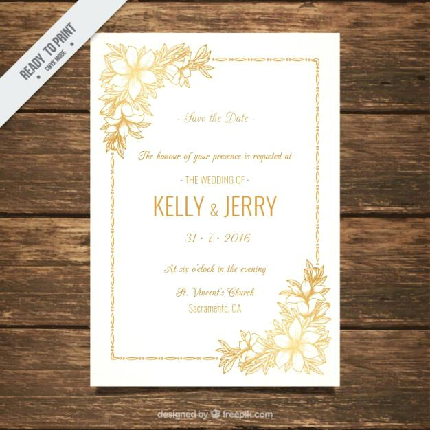 626x626 Free Downloadable Wedding Invitations For Wedding Invitation