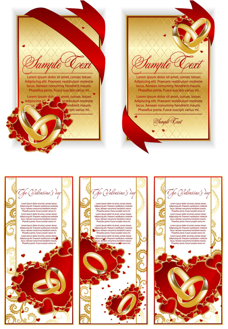800x1150 Luxury Wedding Cards Vector Elegant Wedding Invitation Card Design