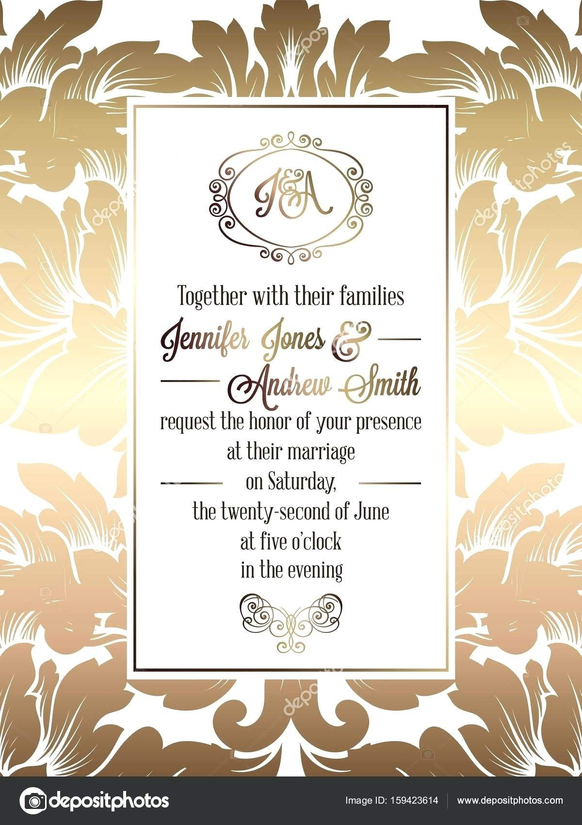 1200x1700 Wedding Invitation Vector Free Download Beautiful Free Editable