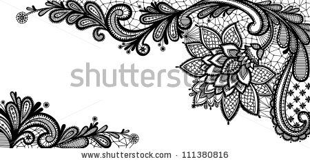 Wedding Lace Vector