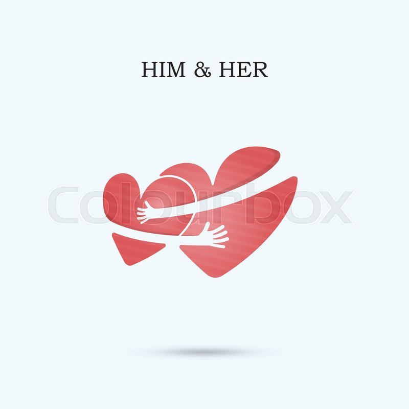 800x800 Him And Her,friends Forever Vector Logo Design Template.wedding