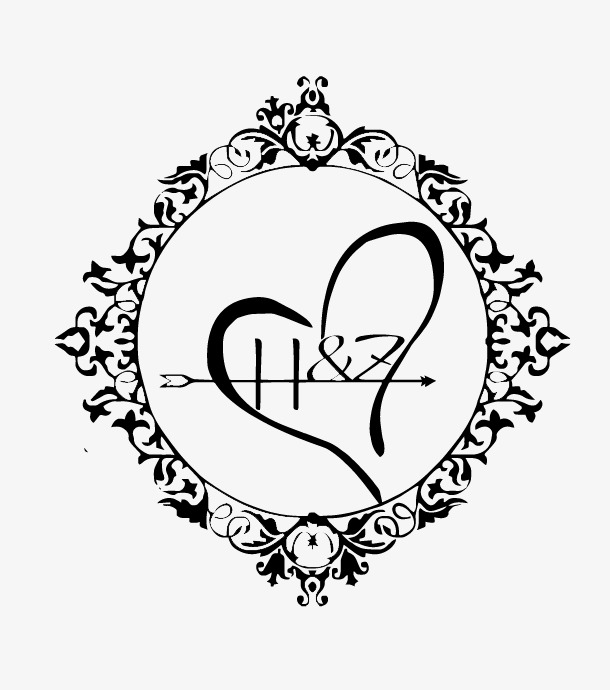 610x690 Hz Vector Wedding Logo, Wedding Dress, Wedding Logo, Wedding Png