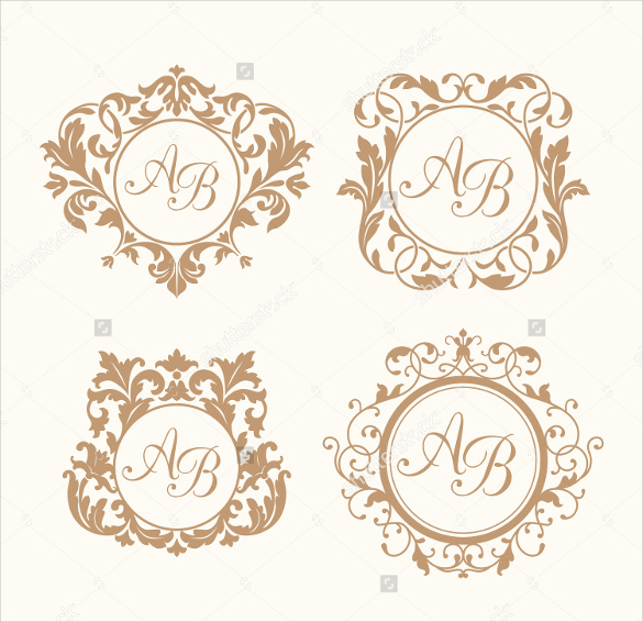 585x566 Wedding Logo Template Free Psd, Eps, Ai, Illustrator Format