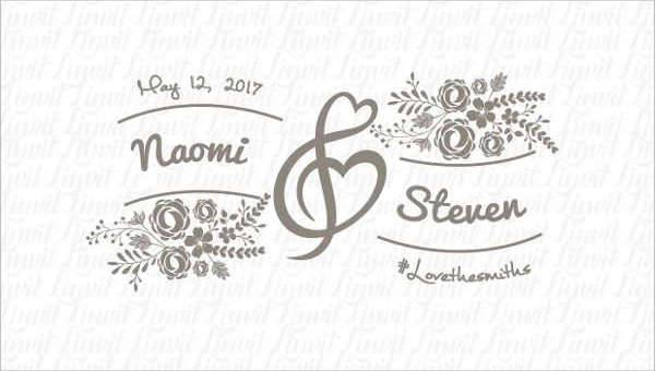 600x340 Wedding Logo Design Templates Design Trends