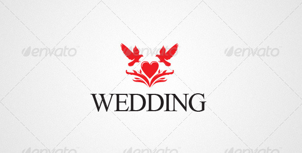 590x300 Wedding Logo By Logomaster Graphicriver