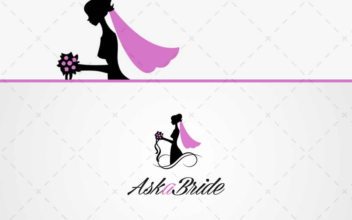 1200x750 Bride Logo Beautiful Bridal Logo For Sale