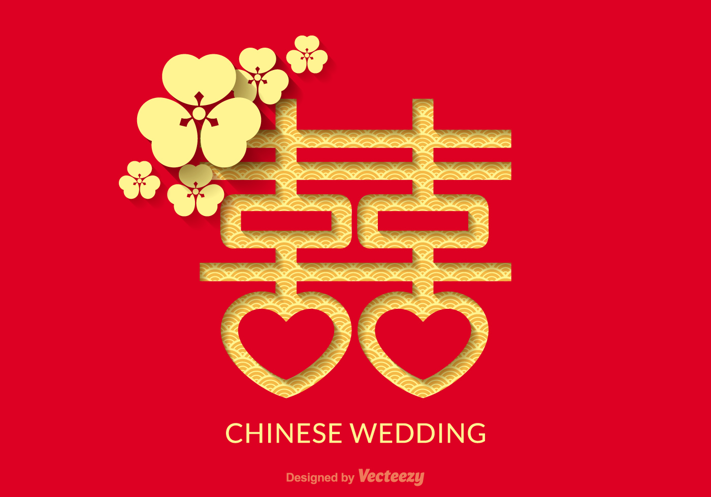 1400x980 Chinese Wedding Free Vector Art