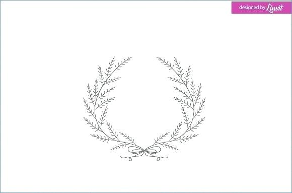 580x383 Elegant Floral Monogram Design Template For One Or Two Letters