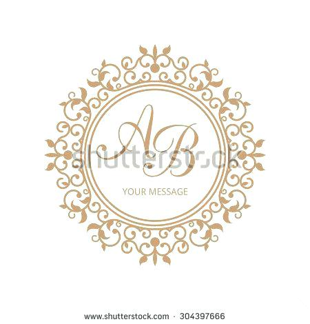 450x470 Wedding Monogram Design Templates Shiftevents.co