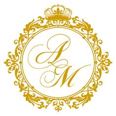 236x236 Custom Wedding Monogram Digital Wedding Logo Initials Monogram