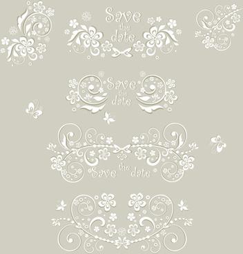 352x368 Vintage Wedding Ornaments Vector Free Vector Download (18,774 Free