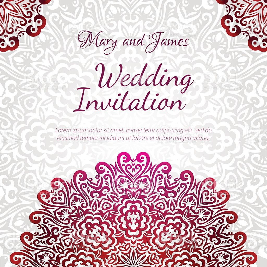 1024x1024 Wedding Card Ornaments Vector Awesome Lacy Vector Wedding Card