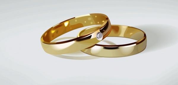 600x288 Free Wedding Ring Vector Free Vector Download (2,217 Free Vector