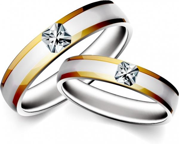 600x481 Wedding Rings Vector Free Vector In Encapsulated Postscript Eps