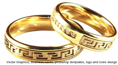 500x279 Png Wedding Rings Collection Designs