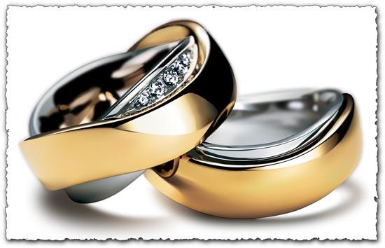 550x354 Wedding Gold Ring Vector