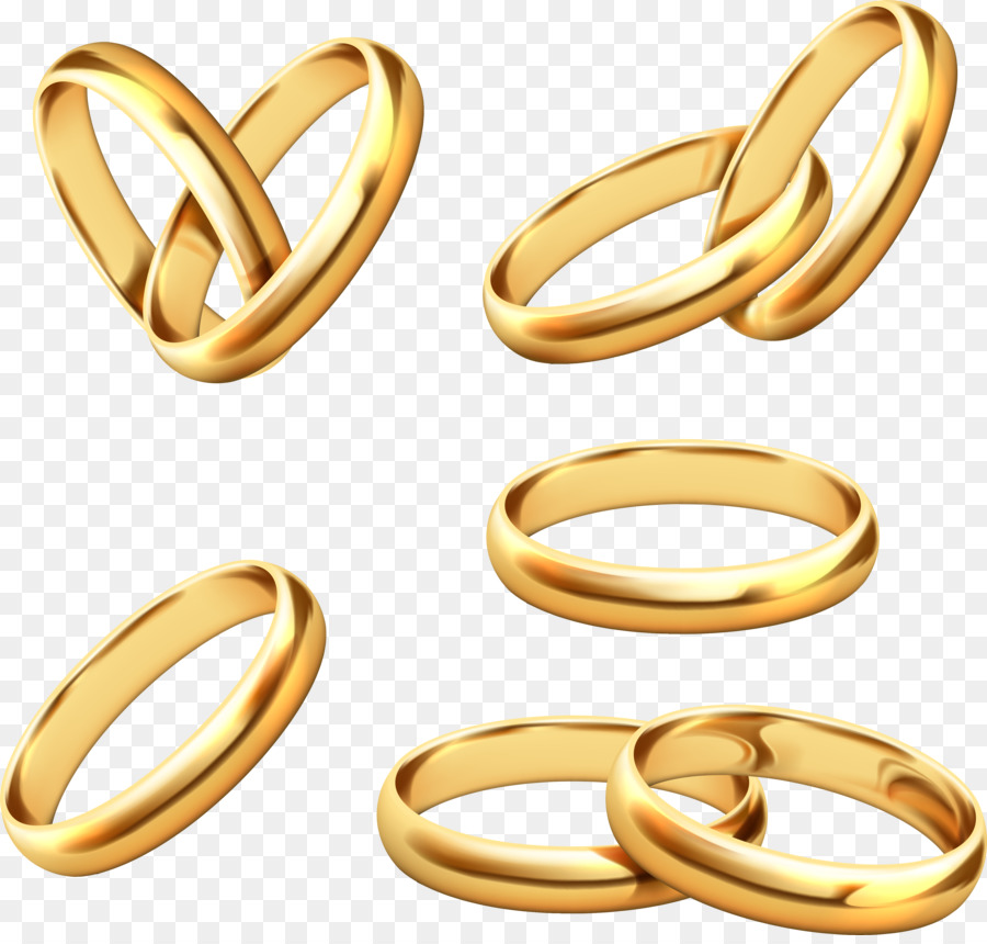 900x860 Wedding Ring Gold Stock Photography
