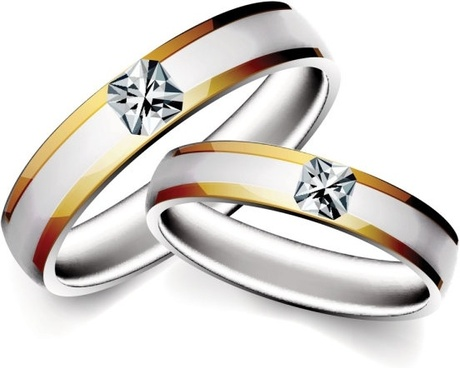 460x368 Wedding Rings Free Vector Download (2,217 Free Vector) For