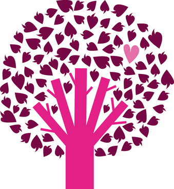 339x368 Heart Wedding Tree Free Vector Download (10,218 Free Vector) For