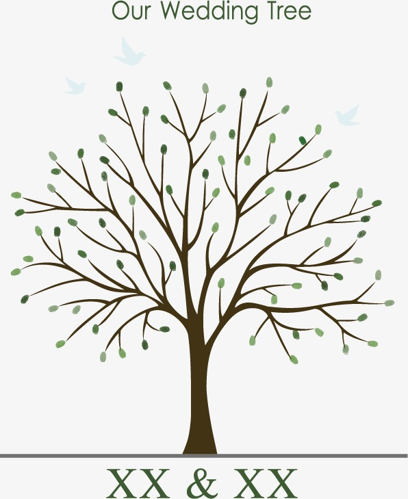 596x729 Wedding Tree Vector, Wedding Elements, Tree, Love Tree Png And