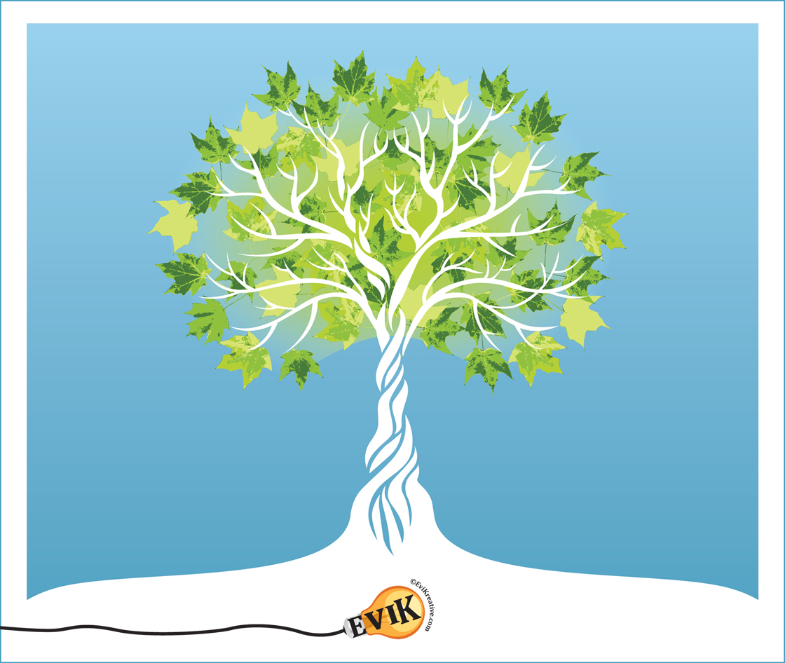 1120x946 Evikreative Custom Tree Vector Graphic
