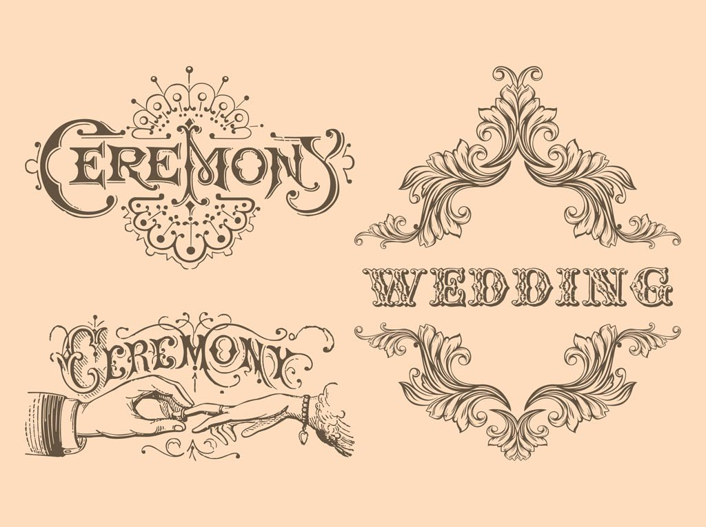 1024x765 Retro Wedding Vectors Vector Art Amp Graphics