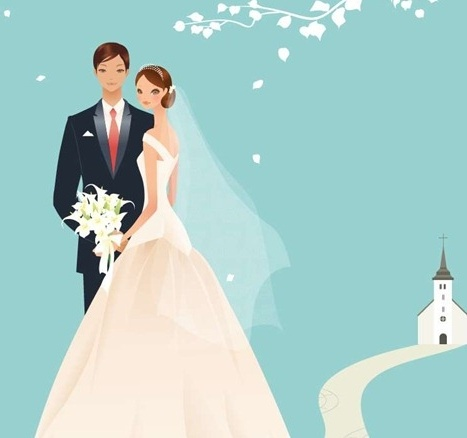 467x438 Wedding Vector Graphic 39 Free Vector In Encapsulated Postscript