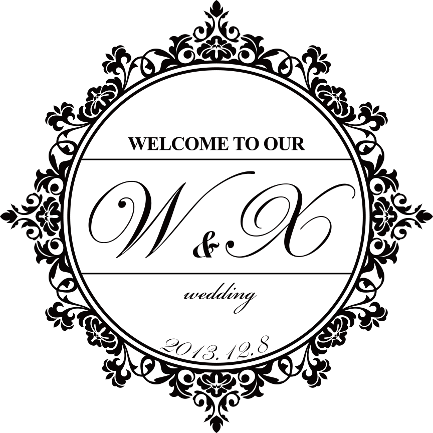 864x864 Wedding Vector