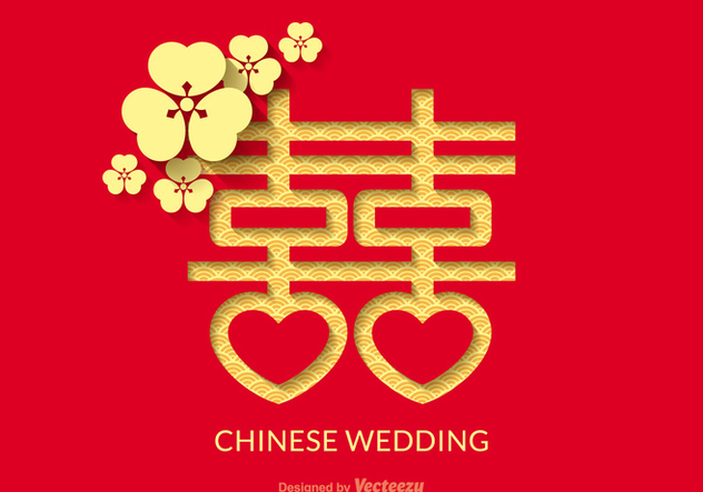 632x443 Free Chinese Wedding Vector Design Free Vector Download 336719