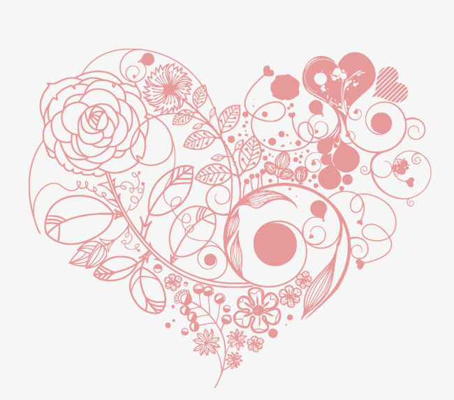 650x573 Vector Pink Love, Love, Pink, Wedding Vector Png And Vector For
